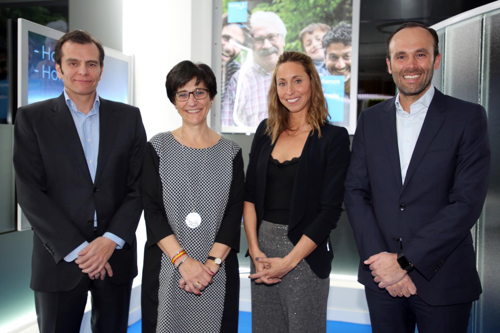 Sanitas inaugura una oficina en pozuelo de alarc n madrid for Oficina sanitas zaragoza