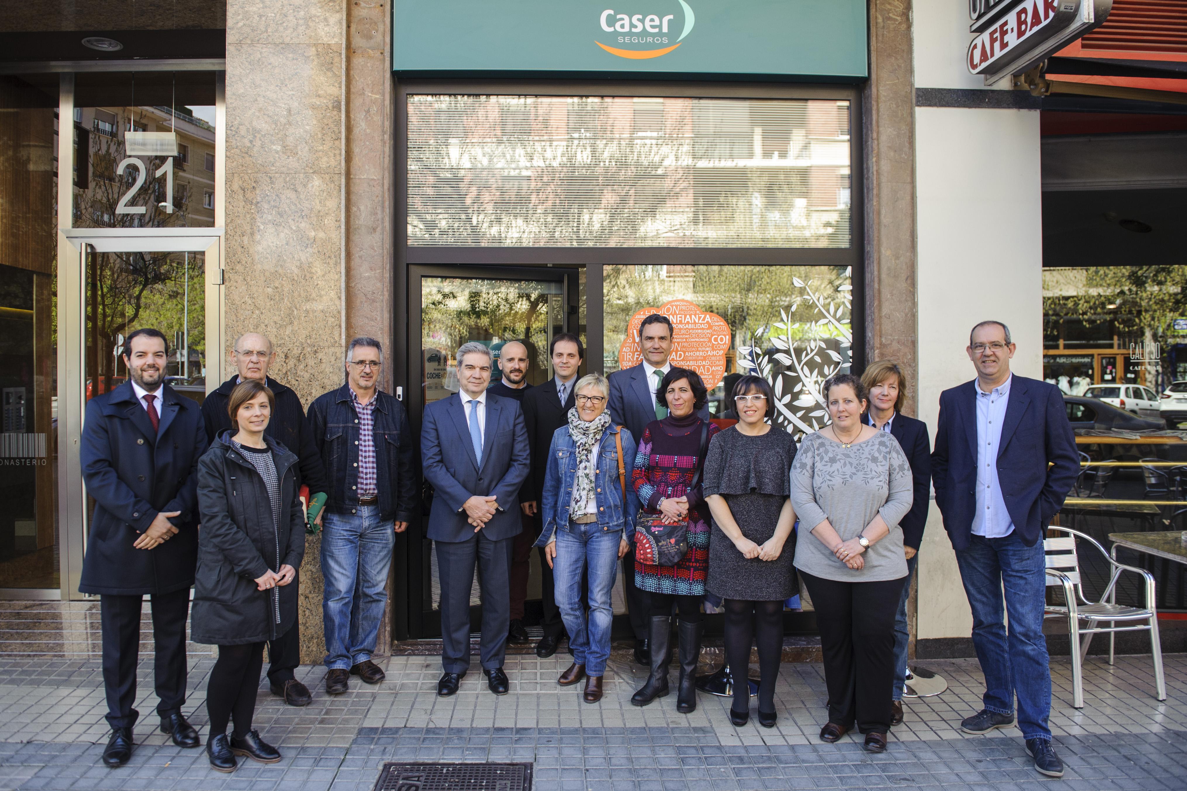 Caser abre una nueva oficina en pamplona grupo aseguranza for Oficinas caser