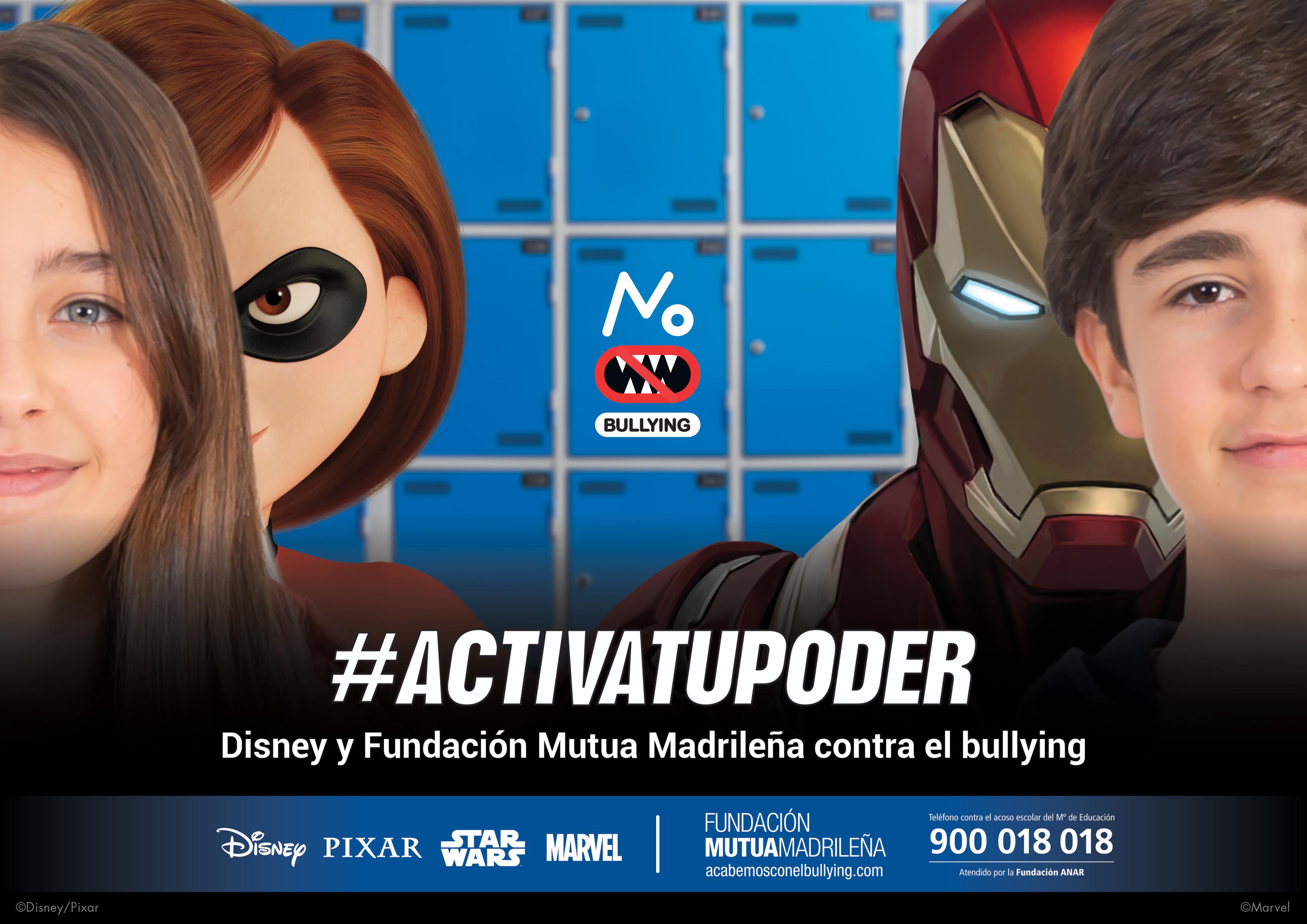 Ironman quiere acabar con el acoso en España de la mano de Mutua Madrileña y Disney